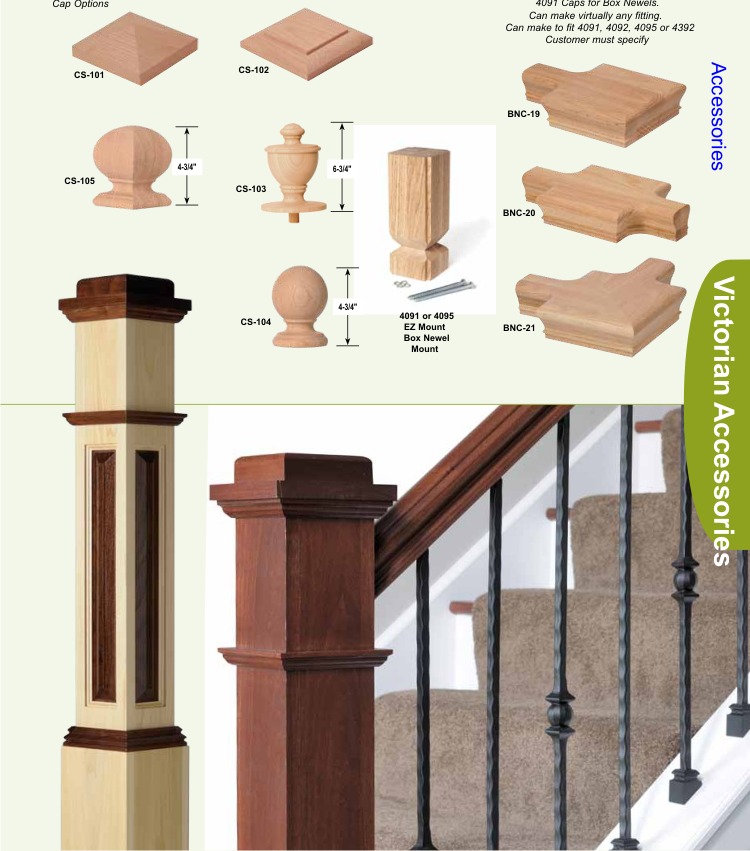 William S Woodworks Wood Stairs: Balusters And Newels