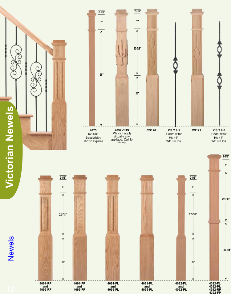 balusters and newels