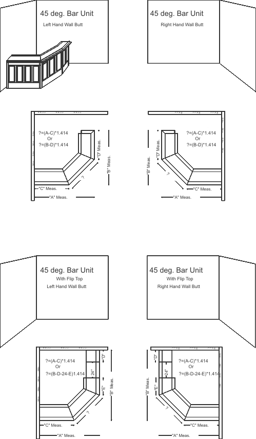 Bar Layout Designs. Print