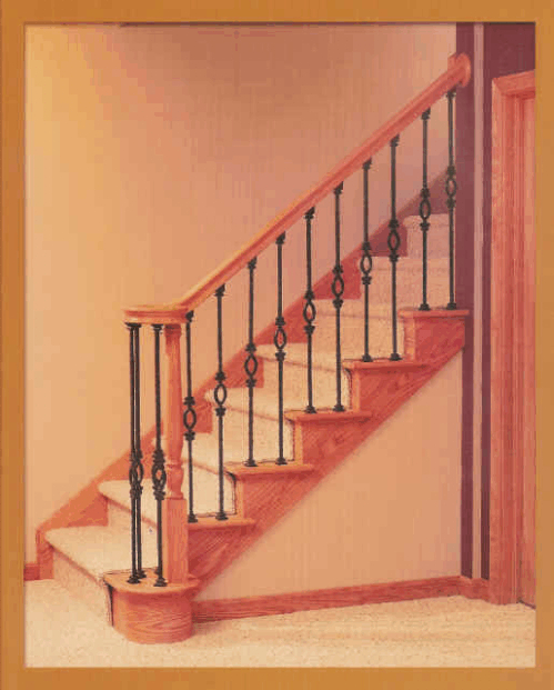 William S Woodworks Wood Stairs: Stair Parts In Wood And Iron. Big Selection At The Wood