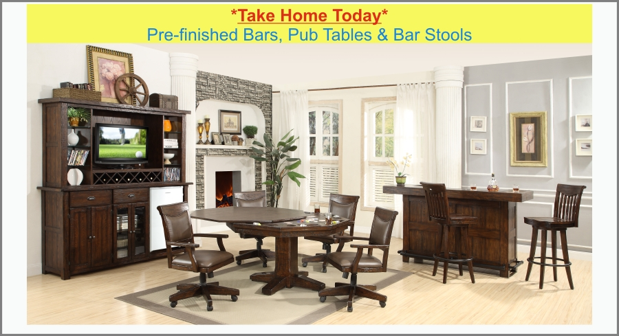 Home bars,custom bar,bar rail,bar kits built for you.